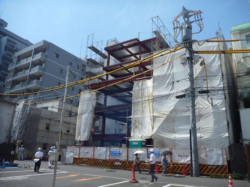東京都新宿区新宿5丁目 鉄骨、耐火木造住宅