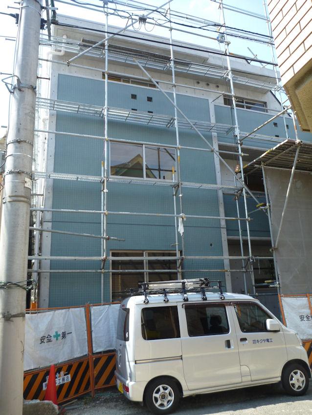 東京都渋谷区笹塚ビル 鉄筋コンクリート3階建て共同住宅