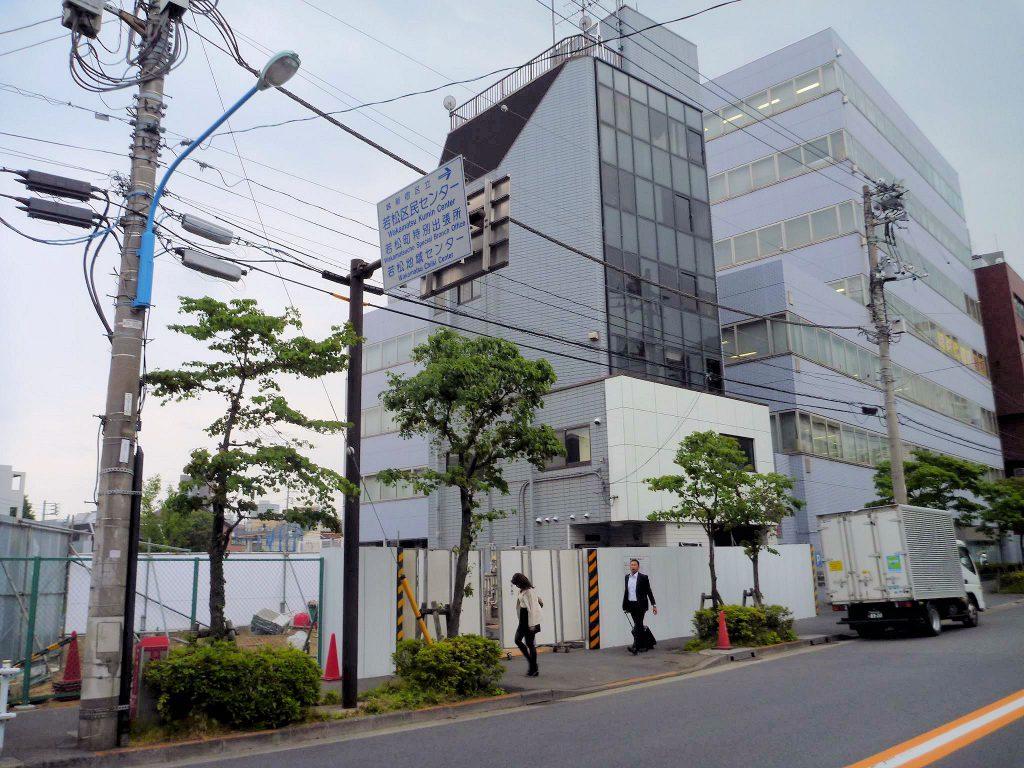 東京都新宿区 鉄骨6階建 住宅 店舗
