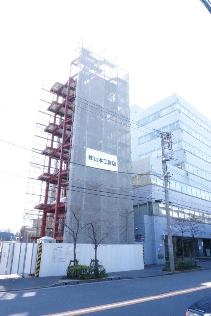 東京都新宿区余丁町 鉄骨造6階建