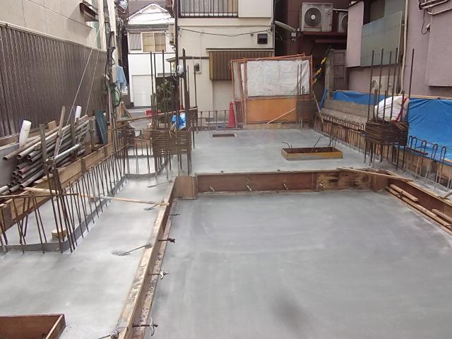 東京都新宿区 神楽坂店舗 新築工事 鉄筋コンクリート
