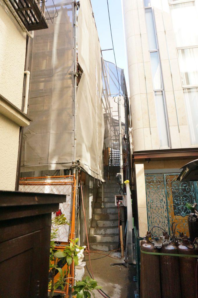 神楽坂店舗 新築工事 鉄筋コンクリート造 東京都新宿区